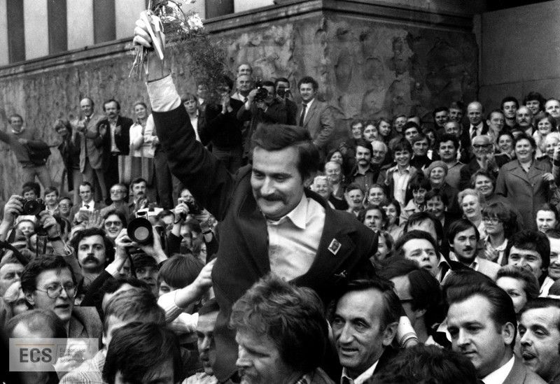 Lech Walesa from Gdansk led the peaceful transformation of Poland
