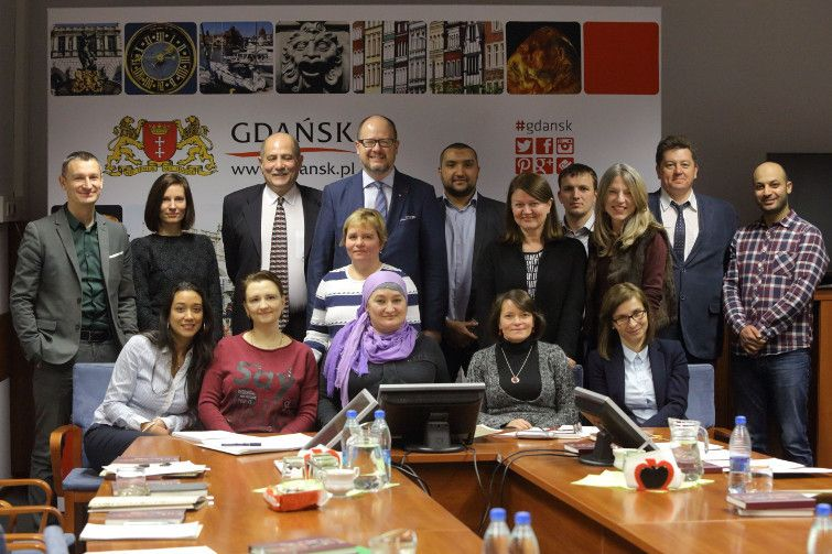 Council of immigrants, which advise me on immigration issues in Gdansk