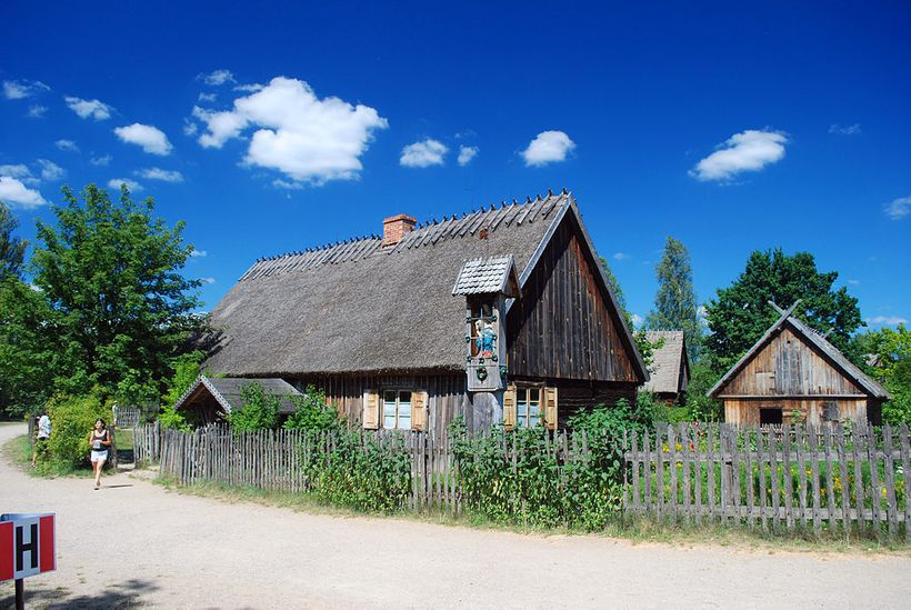 Kashubian Ethnographic Park in Wdzydze