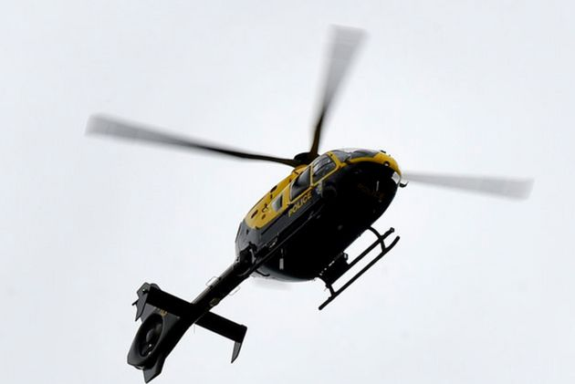 Footage shot from the helicopter and shown to the court includedgraphic scenes of a couple having...
