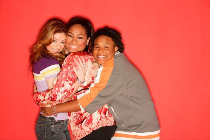 """That's So Raven"" stars Anneliese van der Pol, Raven-Symone and Orlando Brown."