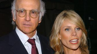 Larry David, creator/writer/executive producer, and Cheryl Hines (Photo by Mark Sullivan/WireImage)