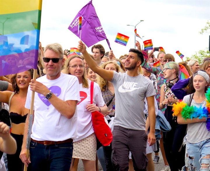 Stockholm Pride Parade 2017