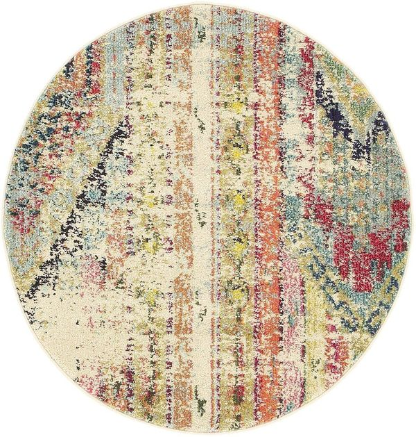 Cheap round rugs that look expensive huffpost for Cheap small round rugs