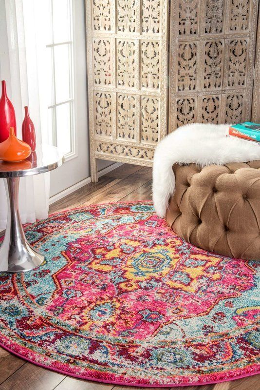 """<a href=""""https://www.wayfair.com/Bungalow-Rose-Loughlam-Pink-Area-Rug-BNGL7292.html?piid%5B0%5D=19344848"""" target=""""_blank"""">Che"""