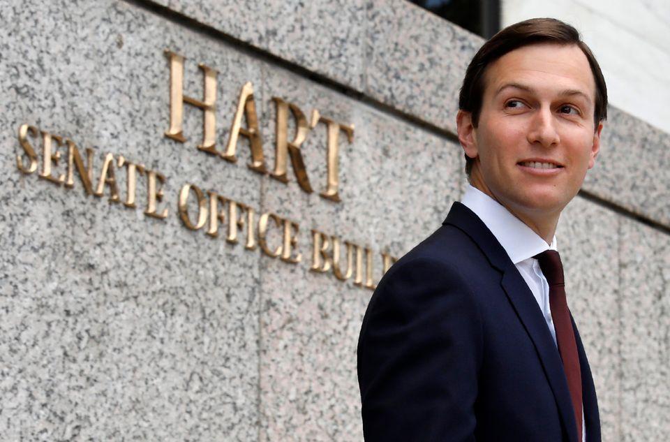 WASHINGTON, DC - JULY 24:  U.S. President Donald Trump's son-in-law and senior White House advisor, Jared Kushner, arrives fo