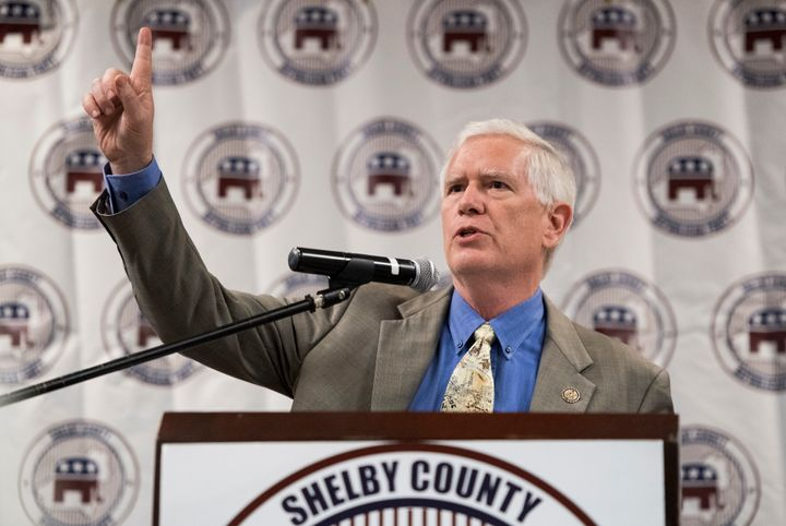 "Rep. Mo Brooks (R-Ala.) said a ""clean debt ceiling raise"" was actually a ""dirty debt ceiling rais"