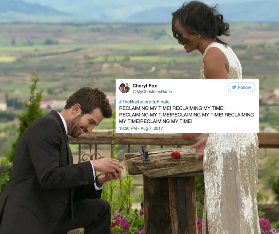 And Rachel and Bryan lived happily ever after (the show).