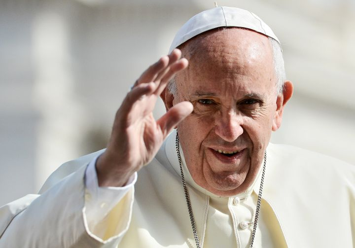 Pope Francis celebrated the General Audience on May 24.