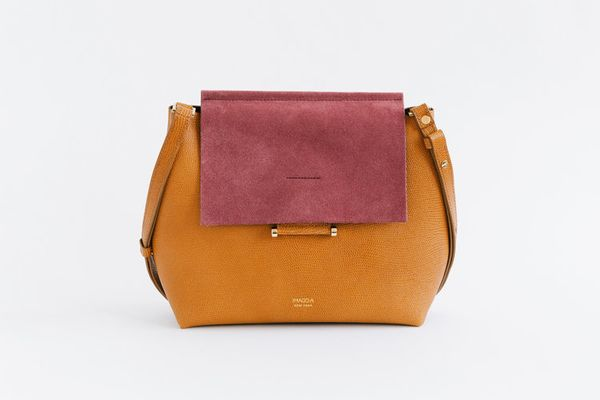 "The effortless addition to any outfit. <a href=""http://www.ofakind.com/shop/product/3962-carre-shoulder-bag-in-raspberry"