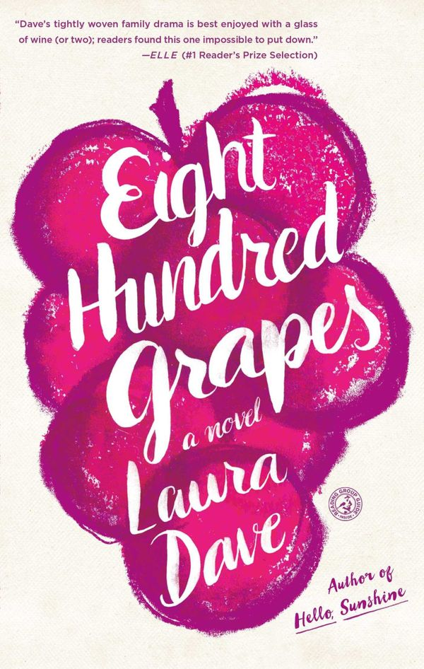 "A fast read to enjoy on your last summer getaway. <a href=""https://www.amazon.com/Eight-Hundred-Grapes-Laura-Dave/dp/14767892"