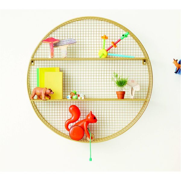 "Use it in kids' rooms, for bathroom storage or a decorative shelf for knick-knacks. <a href=""https://www.target.com/p/circle-"