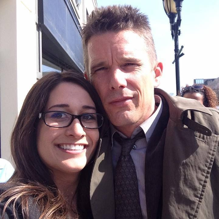 Ethan Hawke and Kate Smith.
