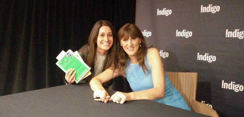 """Kate Smith and Jen Sincero, Author of '<a rel=""""nofollow"""" href=""""https://jensincero.com/"""" target=""""_blank"""">Your Are a Badass</a>"""