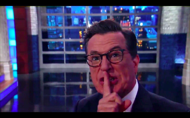 Terrified Stephen Colbert Warns Trump: 'Shut Up... You'll Get Us All