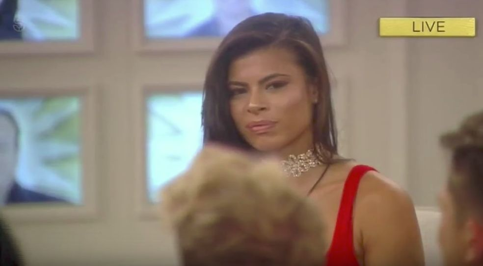 Marissa's Face Says It All As She Learns She's Been Evicted From 'Celebrity Big