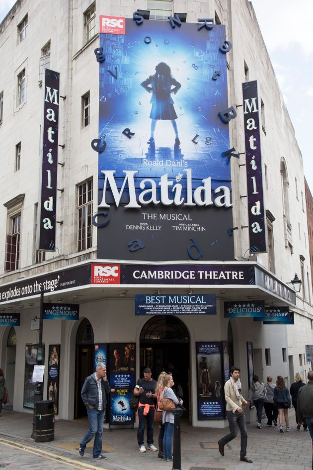 Banned teacher Sarah Barton went to see Matilda on the West End with the