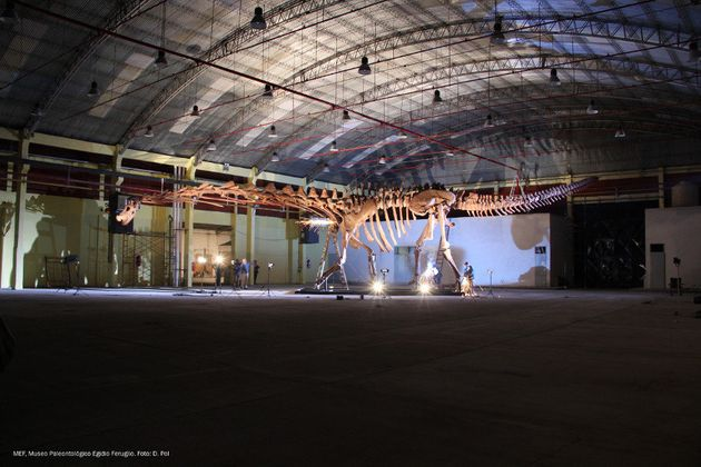 The Largest Dinosaur To Walk The Earth Weighed As Much As The Space