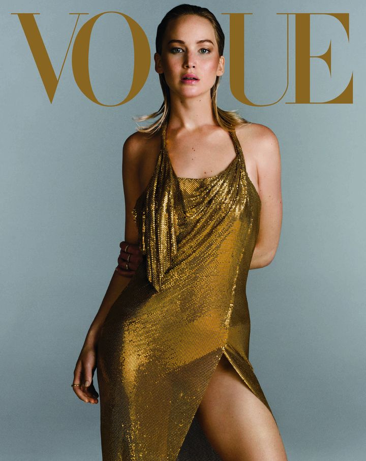 Jennifer Lawrence Covers Vogue's September Issue In A John ...