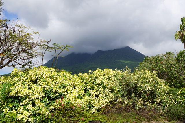 Nevis Peak view from Four Seasons Resort Nevis