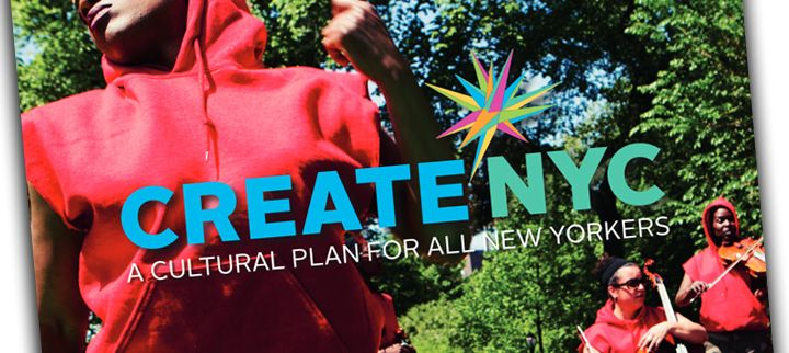 Cover of the CreateNYC Cultural Plan