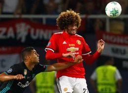 Picture Of A Ball Hitting Marouane Fellaini's Face Sparked Some Glorious Memes