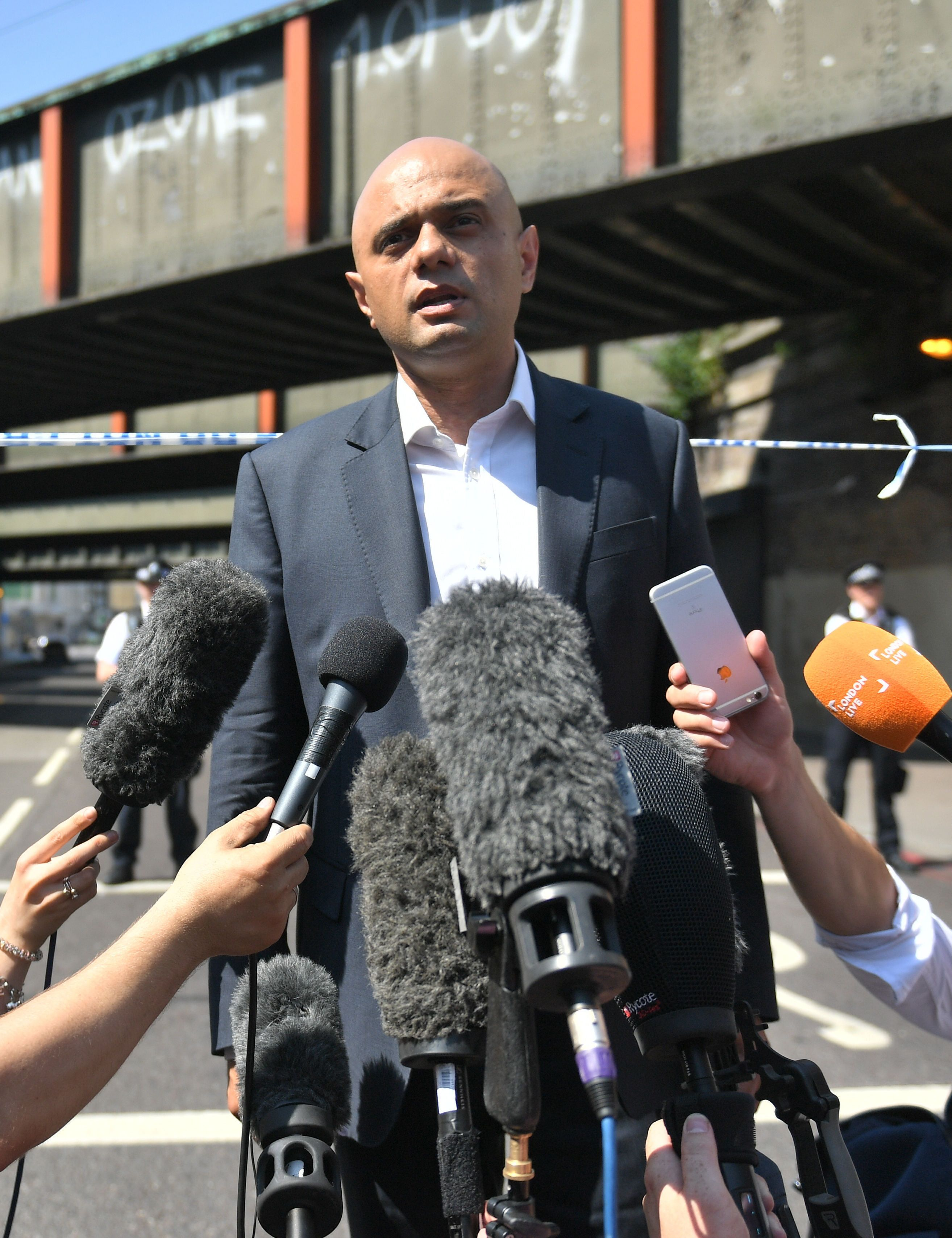 Communities Secretary Sajid Javid ignored a letter about Grenfell
