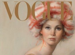 Jennifer Lawrence Is A Retro Vision On Vogue's Anniversary Covers