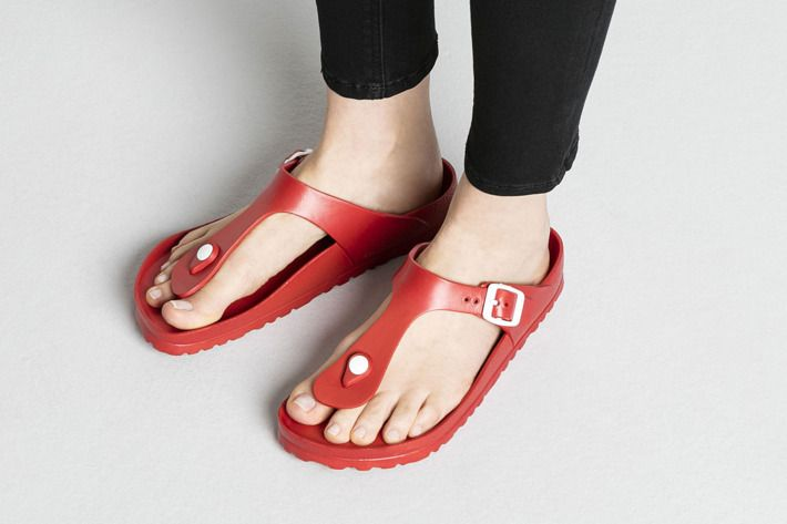 These Plastic Birkenstocks Are Cheaper Lighter And