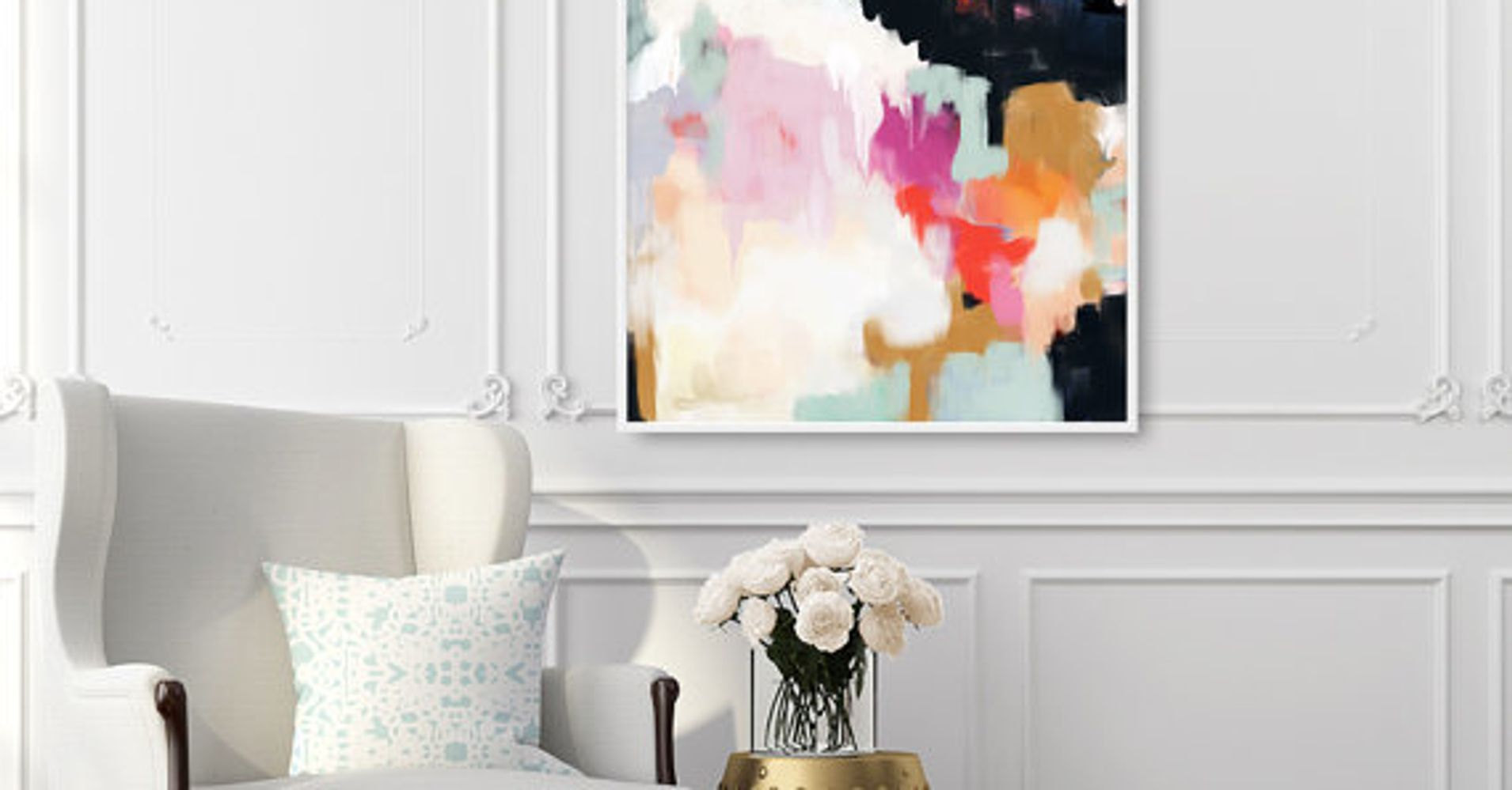 12 Ways To Add Color To A Room Without Paint According To