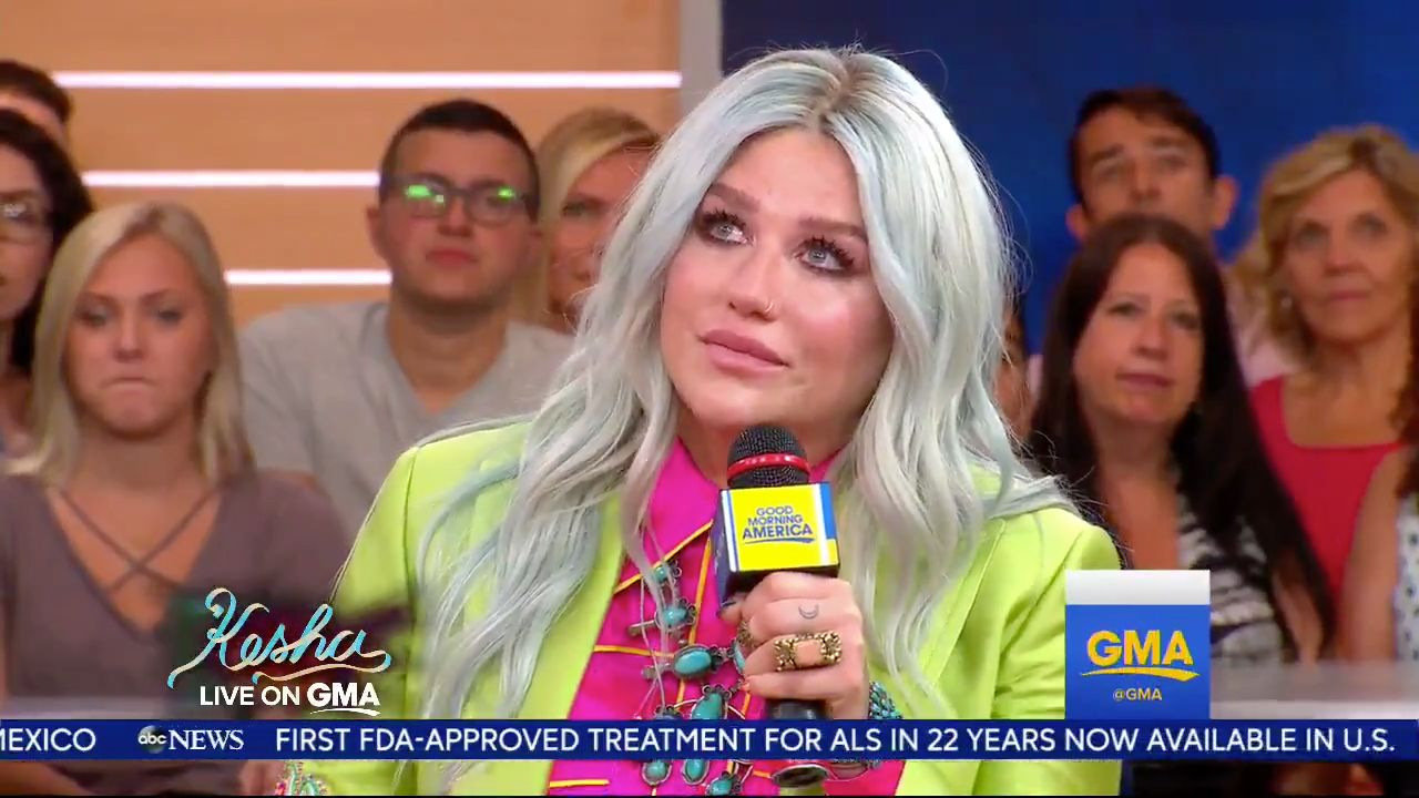 Kesha Emotionally Admits New Album Is 'Quite Literally Saving My