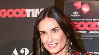 NEW YORK, NY - AUGUST 08:  Actress Demi Moore attends the New York premiere of 'Good Time' at SVA Theater on August 8, 2017 in New York City.  (Photo by CJ Rivera/FilmMagic)