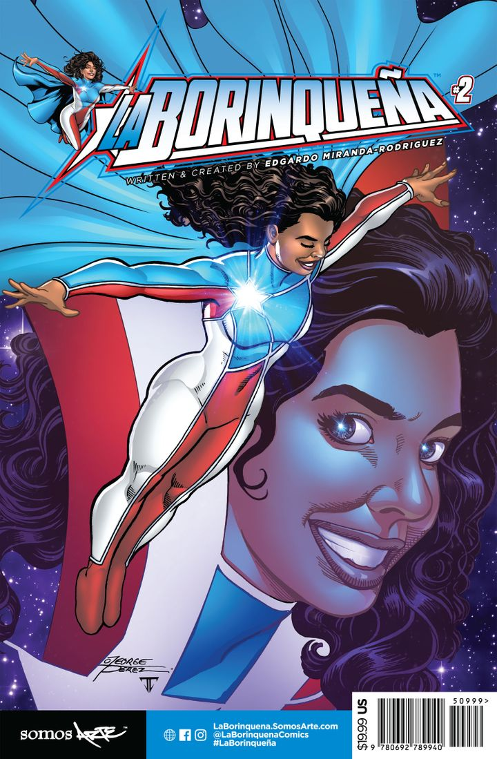 "The cover for the second issue of ""La Borinqueña."""
