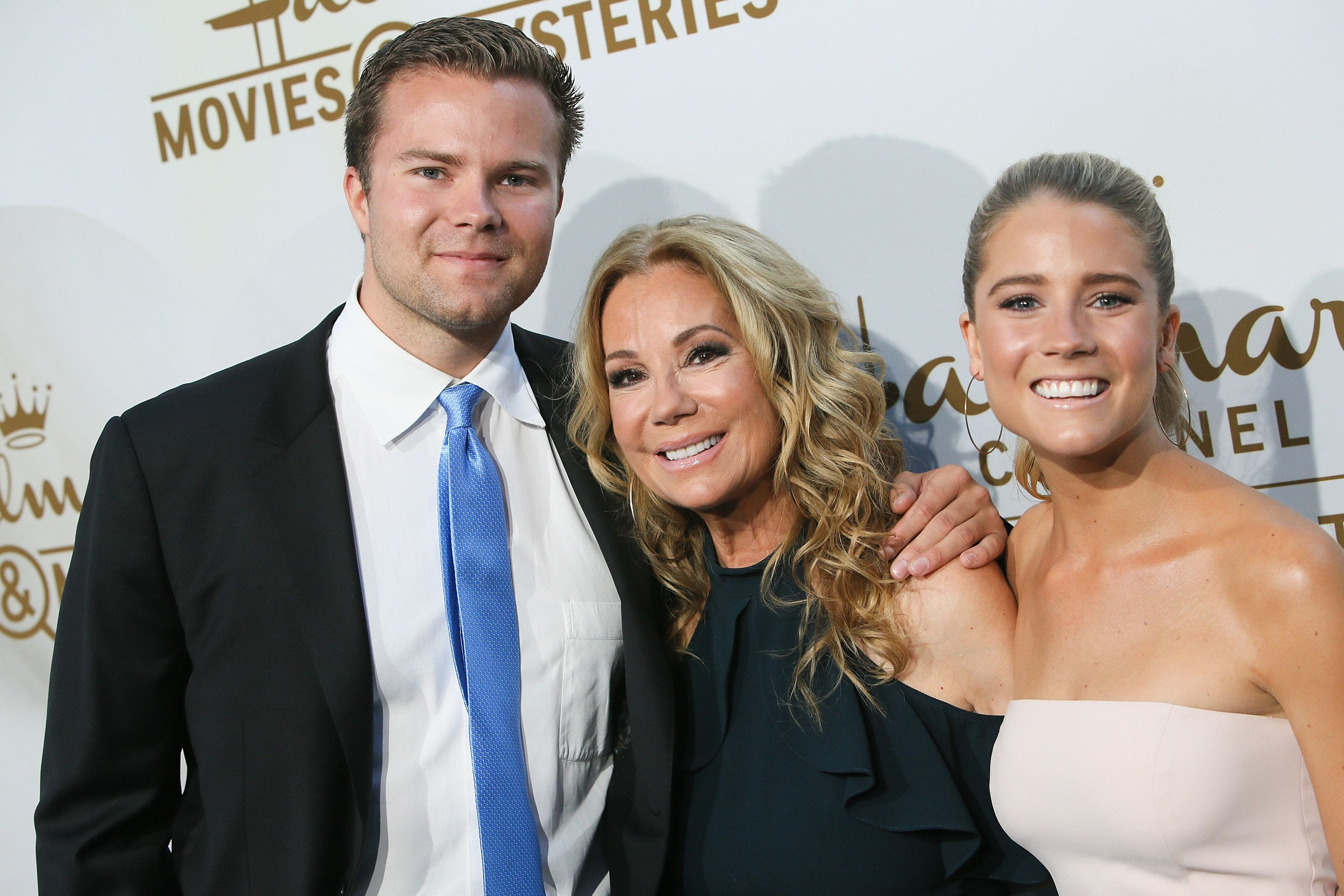 BEVERLY HILLS, CA - JULY 27:  Cody Gifford, Kathie Lee Gifford and Cassidy Erin Gifford attend the Hallmark Channel and Hallmark Movies and Mysteries 2017 Summer TCA Tour on July 27, 2017 in Beverly Hills, California.  (Photo by David Livingston/Getty Images)