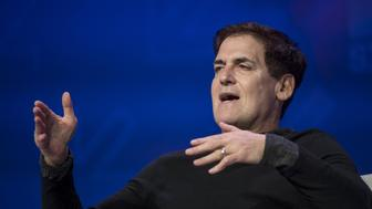 Mark Cuban, billionaire owner of the National Basketball Association's (NBA) Dallas Mavericks basketball team, speaks at the 2017 South By Southwest (SXSW) Interactive Festival at the Austin Convention Center in Austin, Texas, U.S., on Sunday, March 12, 2017. The SXSW Interactive Festival features a variety of tracks that allow attendees to explore what's next in the worlds of entertainment, culture, and technology. Photographer: David Paul Morris/Bloomberg via Getty Images