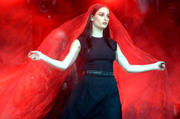 Banks performs during Lollapalooza 2017 at Grant Park on Aug. 5, 2017, in Chicago,