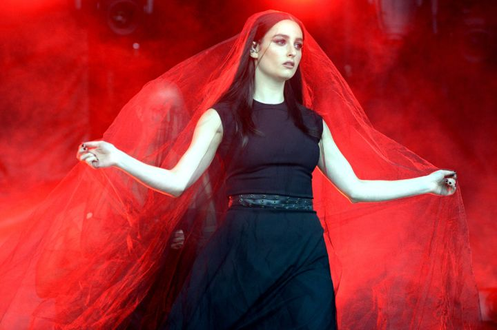Banks performs during Lollapalooza 2017 at Grant Park on Aug. 5, 2017, in Chicago, Illinois.