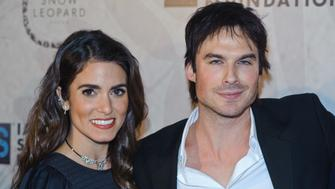 CHICAGO, IL - DECEMBER 03:  Nikki Reed and Ian Somerhalder attend the Ian Sumerhalder Foundation Benefit Gala at Galleria Marchetti on December 3, 2016 in Chicago, Illinois.  (Photo by Timothy Hiatt/Getty Images)