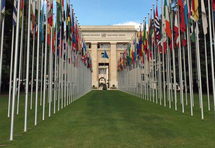 UN Palais des Nations in Geneva