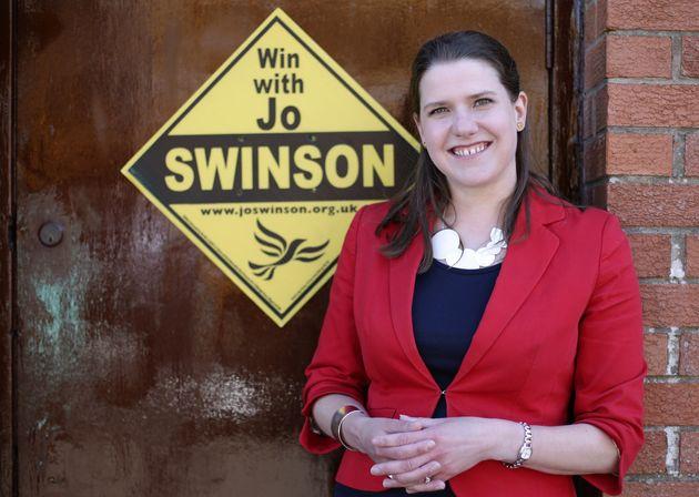 The Lib Dems' Jo Swinson re-entered Parliament this