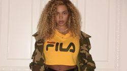 Beyoncé Rocks Shredded Shorts, Minimal Makeup To See Kendrick