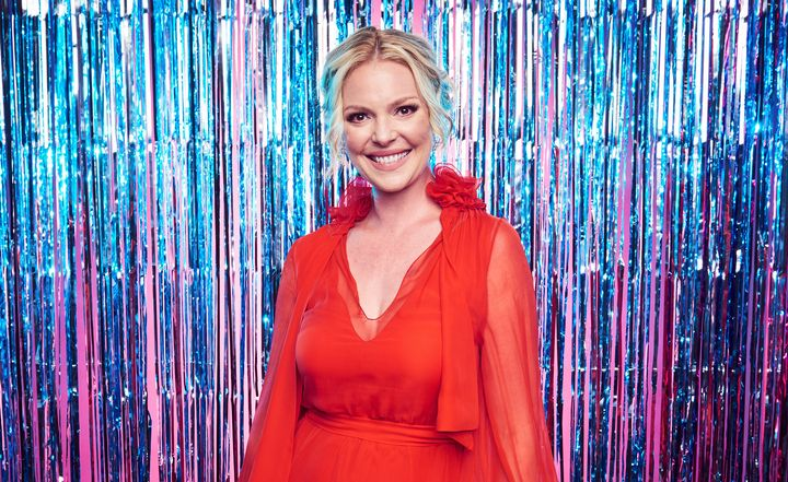 In an essay on her blog, Katherine Heigl opened up aboutlosing weight after giving birth.
