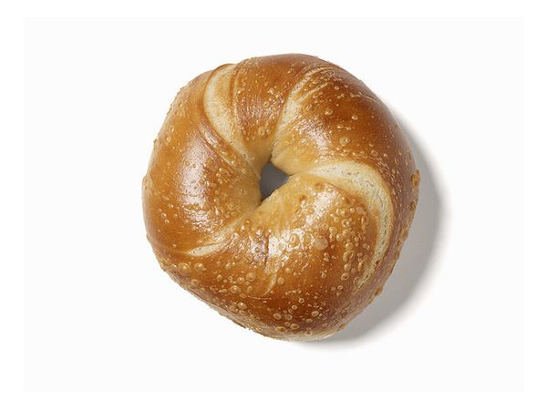 A classic. It's just missing something, something like... onion, poppy seed, sesame seed and caraway seed.