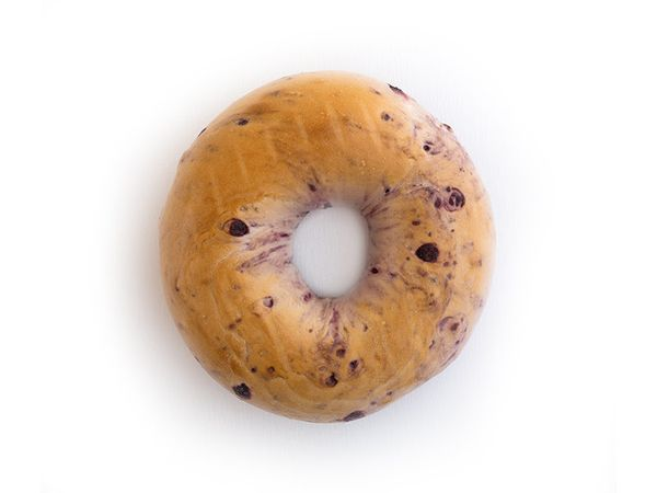 Blueberry schmear? Sure. Blueberry bagels? No way. The fruit makes the bagel look diseased and wet, and bagels deserve better