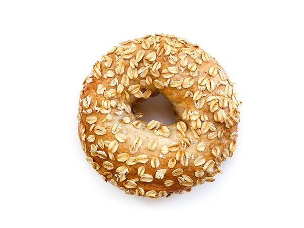 Oatmeal and bagels need to stay away from each other.