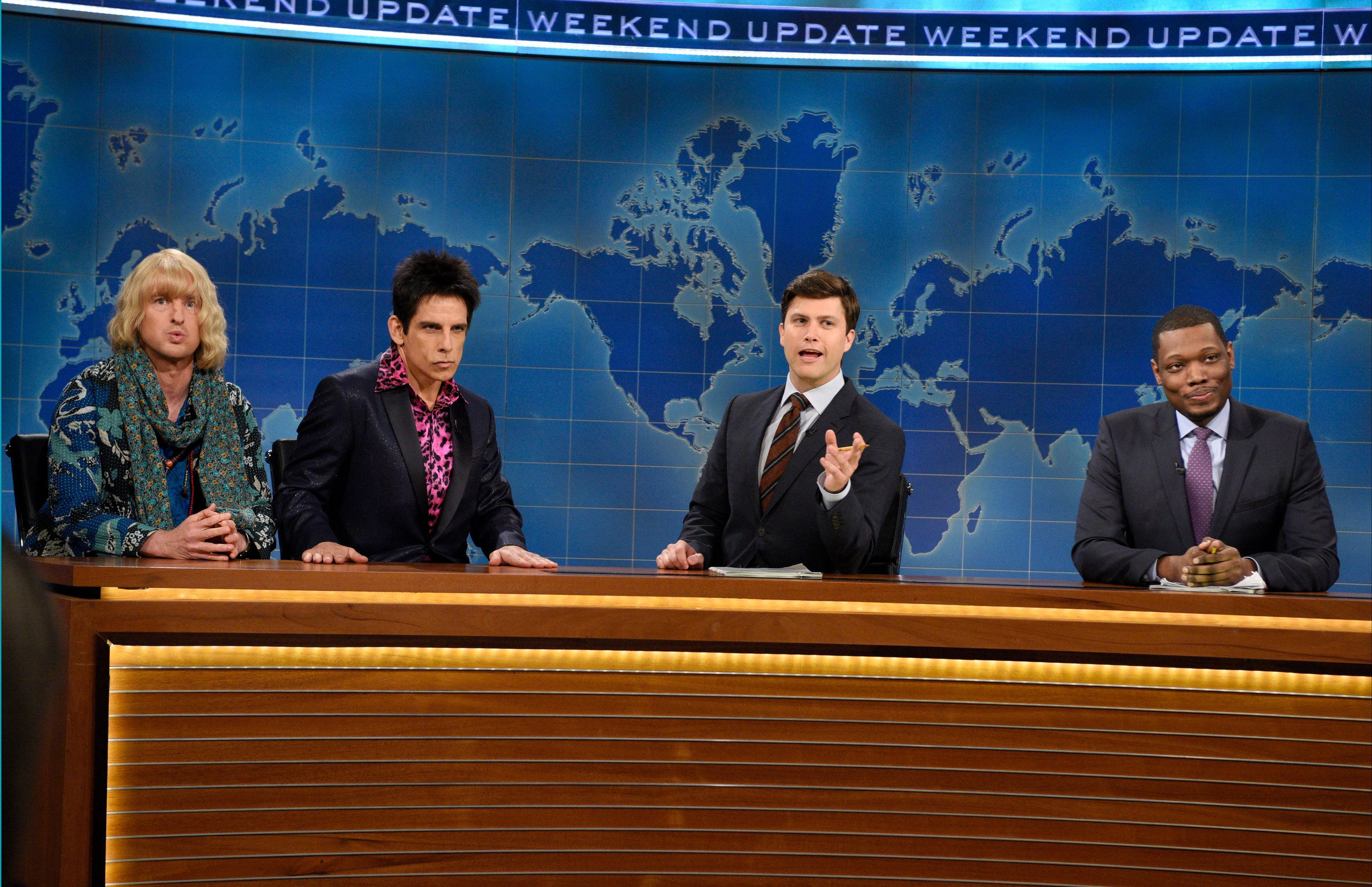 Bill Hader Mooches Up 'SNL' Weekend Update Summer Edition
