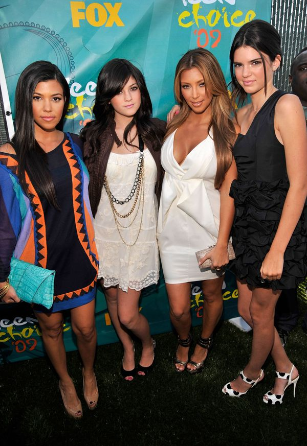 Kylie Jenner (second from left) at the Teen Choice Awards 2009 on Aug. 9, 2009 in Universal City, CA.