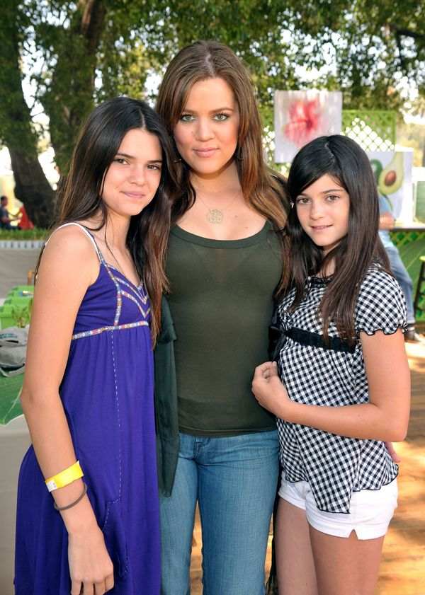 Kylie Jenner (right) atthe A Time for Heroes Celebrity Carnival onJune 8, 2008 in Los Angeles, CA.
