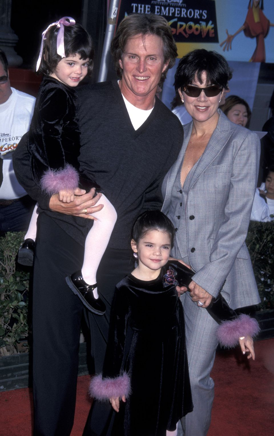 "Kylie Jenner, left, at the world premiere of ""The Emperor's New Groove"" on Dec. 10, 2000, in Hollywood."