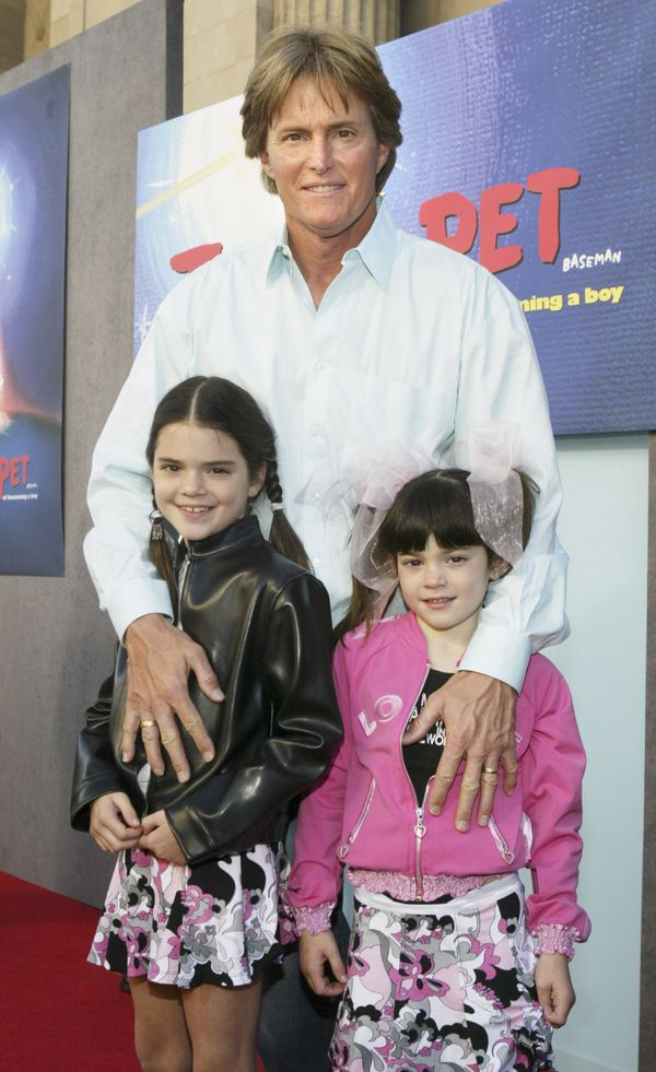 "Kylie Jenner (right) at the world premiere of ""Teacher's Pet"" in Hollywood, CA on Jan. 11, 2004."